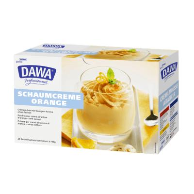 Crème mousse à l'orange Dawa