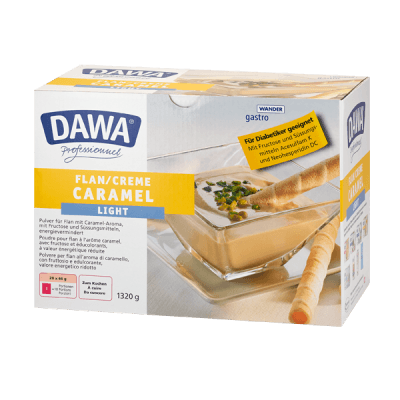 Dawa Flan Light Caramel